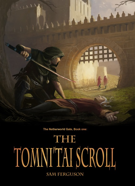 The Tomni'Tai Scroll, Sam Ferguson new book