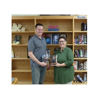 Eric Buffington Visits Elk Lake schools
